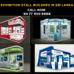 Among all exhibition stall builders in Sri Lanka, Pixel hits your exhibition stall up to No#01