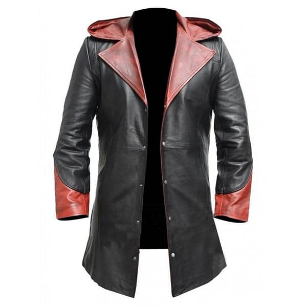 Devil May Cry Leather Trench Coat For Sale