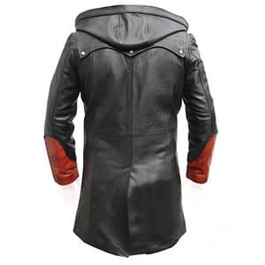 Devil May Cry Leather Trench Coat