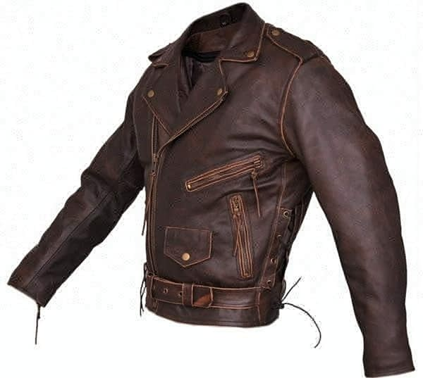 Marlon Brando Brown Leather Motorcycle Jacket